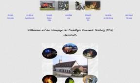 Alte Website der Feuerwehr Homberg (Efze)