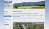 Die neue Website des Kneipp-Vereins Eschwege